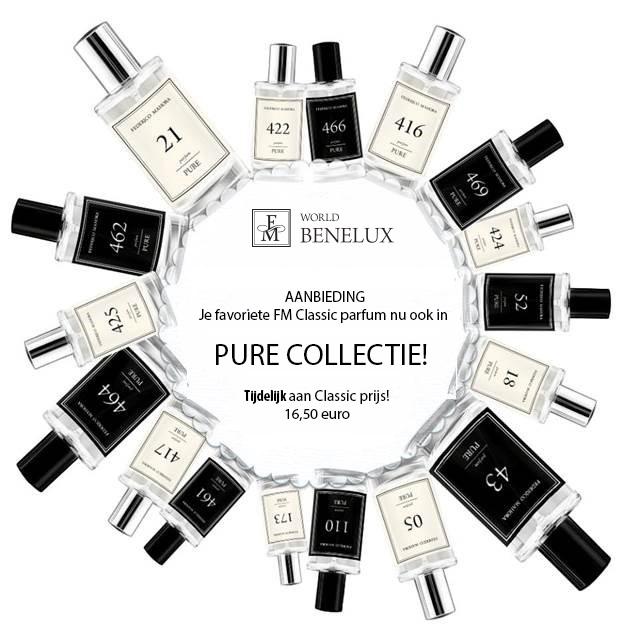 Tijdelijke Actie Je Favoriete Fm Classic Parfum Nu Ook In Pure