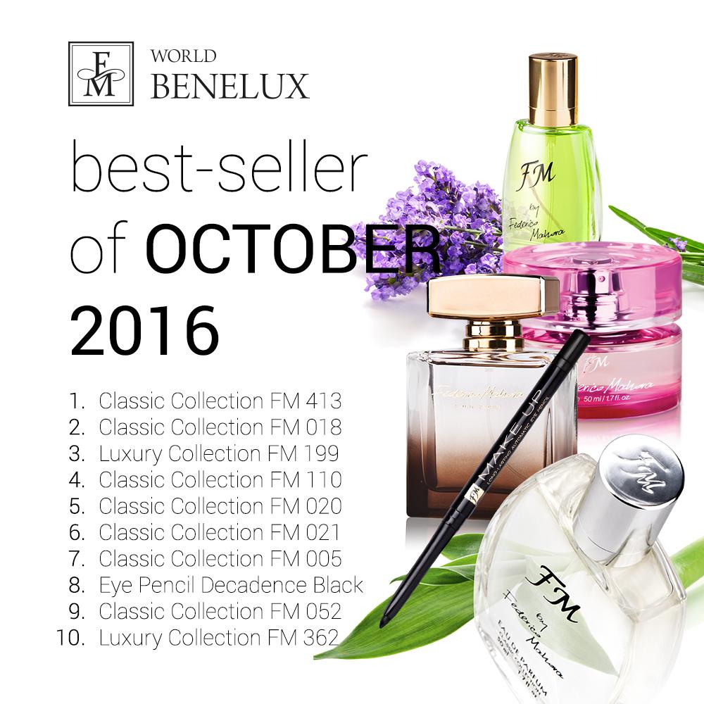 Top 10 Best Verkopende Producten Oktober Federico Mahora Nederland